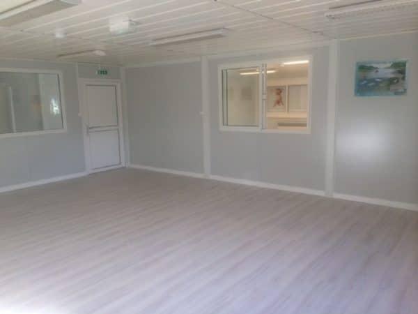 Salle de classe modulaire préfabriqué
