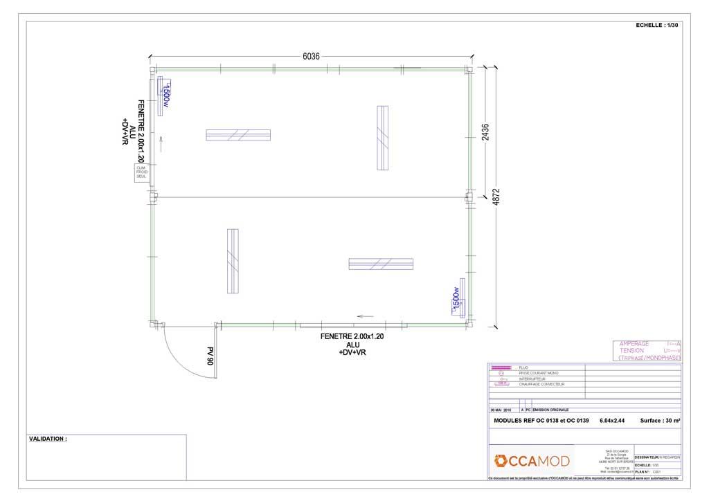 Construction modulaire occasion Algeco