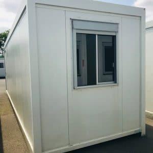 Bâtiment modulaire base vie occasion