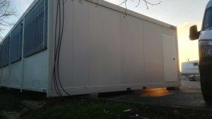 vue coté bungalow modulaire