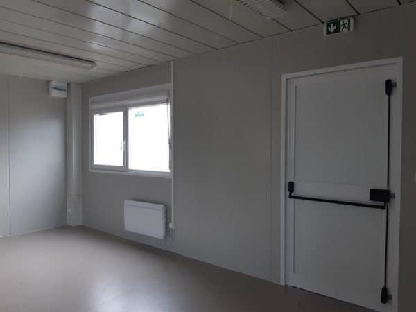 Salle de classe préfabriqué