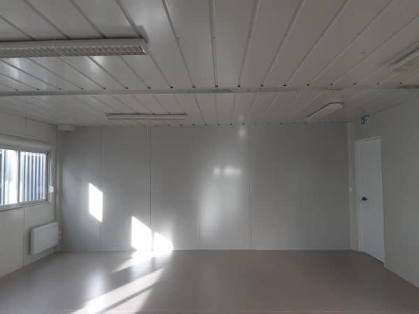 Bâtiment salle de classe modulaire