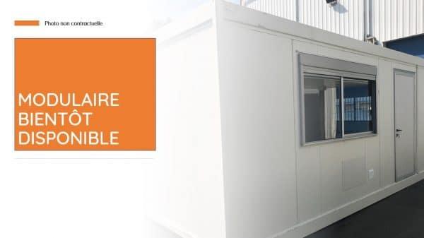 Vestiaires sanitaires modulaire