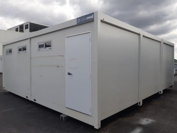 Sanitaires/vestiaires modulaire