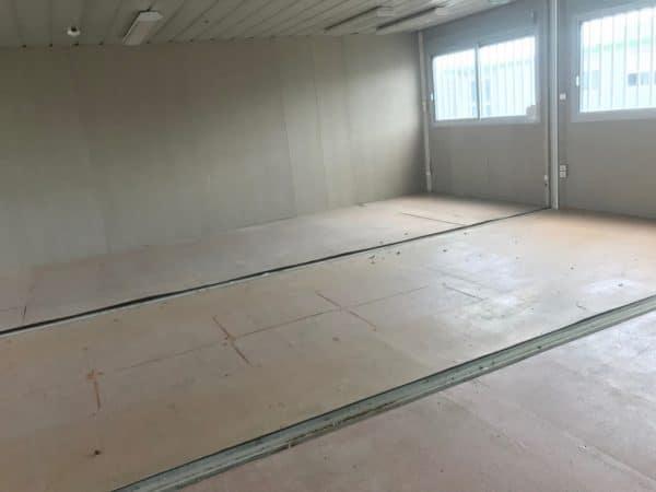 Bureau préfabriqué cougnaud 60m²