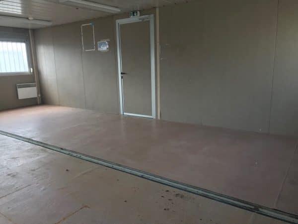 Bâtiment préfabriqué 60 m²